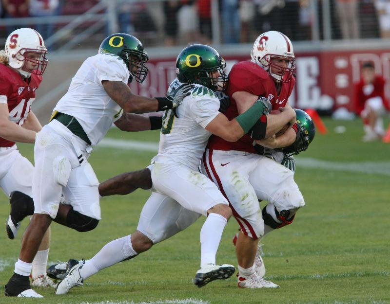 Stanford vs oregon football stanford oregon football 037